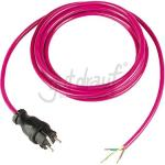 3 G Anschlußleitung 16A 250V 1,5 mm², mit Vollgummistecker