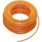 H07BQ-F 5 G 4,0 mm² -100 m-Ring Orange