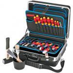 """knipex VDE-Werkzeugkoffer Elektro """"Standard"""", 24-teilig"""