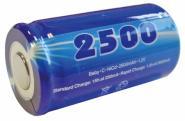 Mexcel NICD Akku D-C2500H (Hochtemperatur Serie)