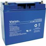 Vision LiFePo4 LI-ION/Polymer Batterie LFP1217