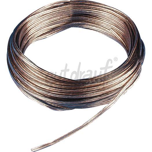 Lautsprecherleitung  2 x 0,75 mm²  50meter Ring