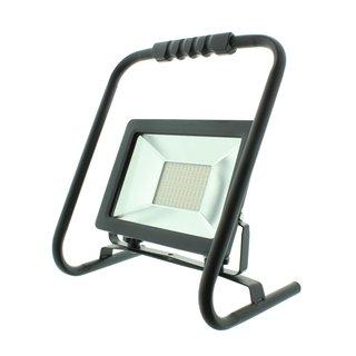 LED Strahler mit Handgestell Baustrahler 50 Watt