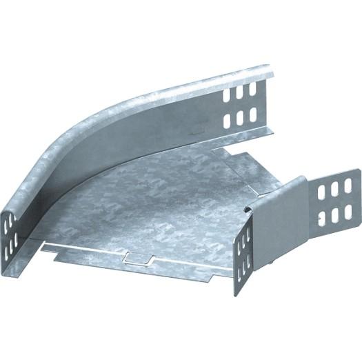Bogen 45° 60x300 verzkt. horizontal, m. Winkelverbinder Preis auf Anfrage